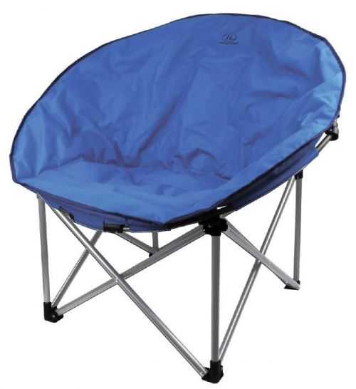 Highlander Comfortable Chair Moon Luxury Blue