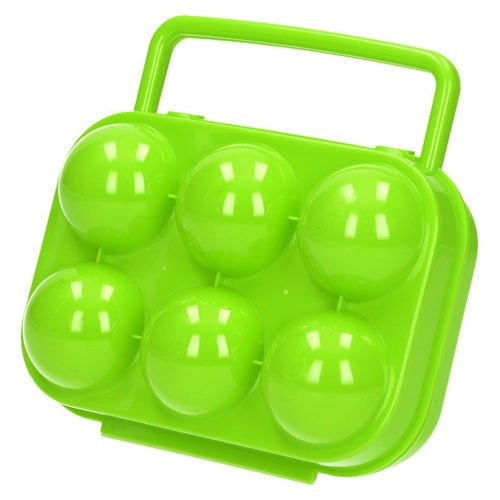 Highlander Container for  Eggs Green
