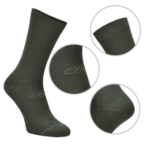 Highlander Coolmax Crew Socks Graphite