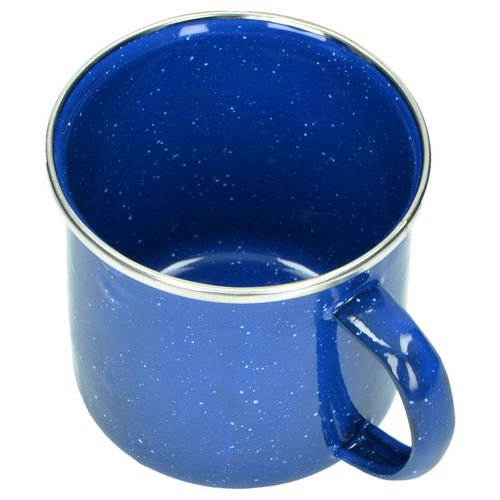 Highlander Deluxe Enameled Mug 350ml Blue