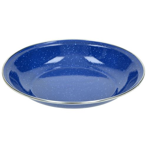 Highlander Deluxe Enameled Plate Blue