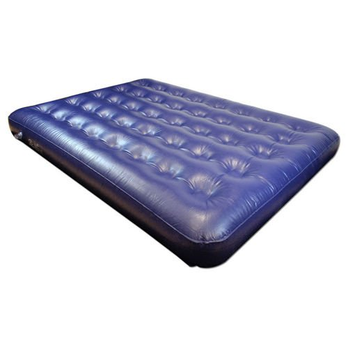 Highlander Double PVC Airbed Blue
