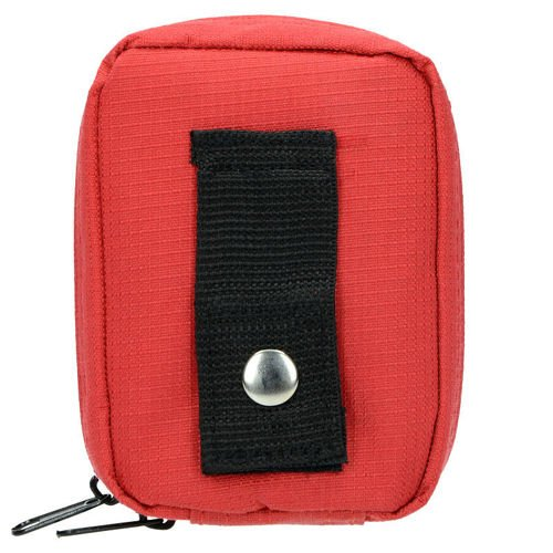 Highlander First Aid Box with Equipment Medium Red