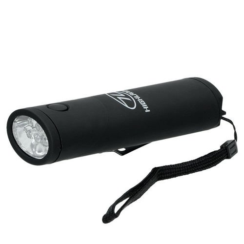 Highlander Flashlight 2in1 Kadar 6 LED Black