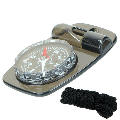 Highlander SOS Compass with Whistle