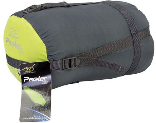 Highlander Sleeping Bag Mummy Pac-Tec 100 Lime