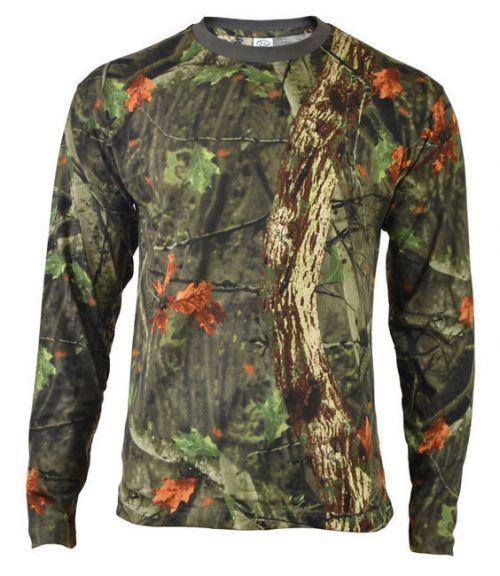 Highlander T-shirt with Long Sleeves Tree Deep