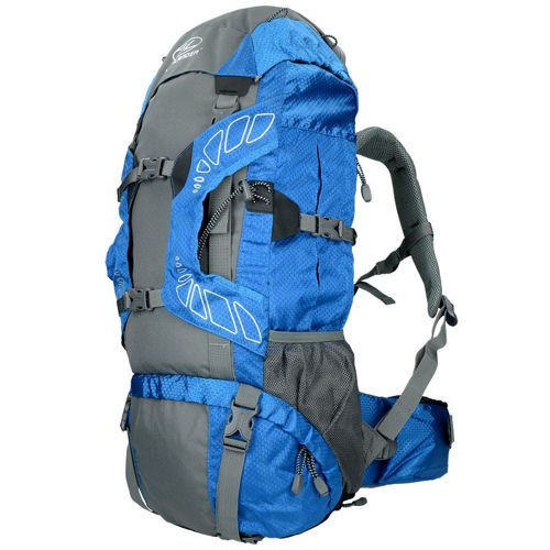 Highlander Tourist Backpack Discovery 45L Blue