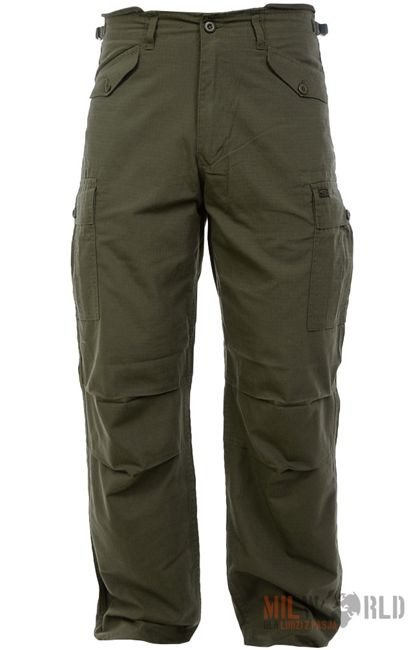 Highlander Trousers M65 Rip-Stop Oliv