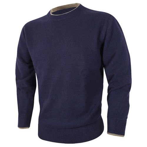 Jack Pyke Ashcombe Crewknit Pullover Navy