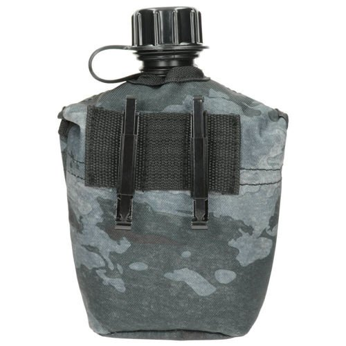 MFH 1QT US Style ALICE Canteen with Cover HDT Camo LE