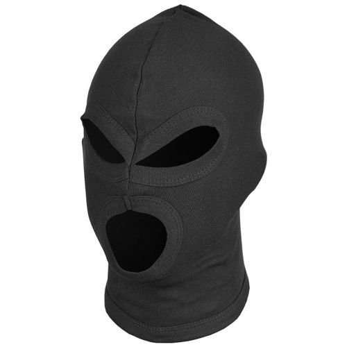 MFH 3 Hole Balaclava Black