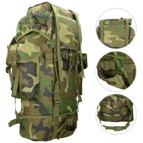 MFH 65L BW Combat Backpack Woodland