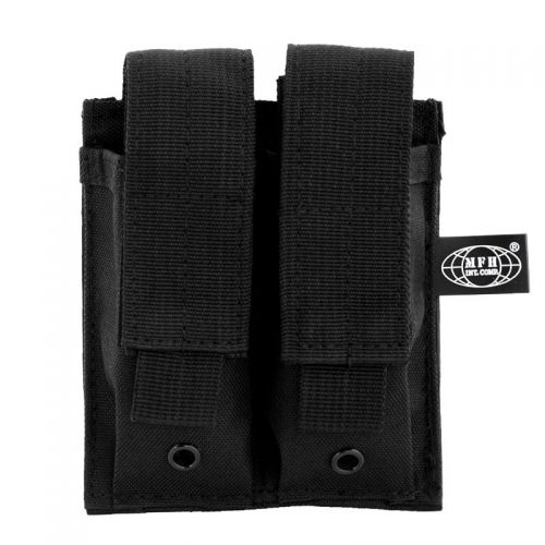 MFH Double Mag Pouch Black