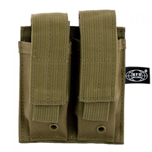 MFH Double Mag Pouch Coyote
