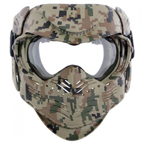MFH Fight Protective Face Mask Digital Woodland (Marpat)