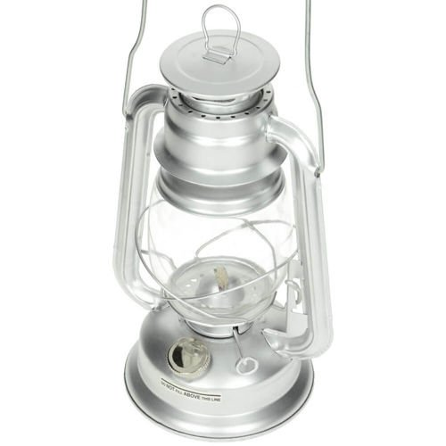MFH Kerosene Lamp 28 cm height Silver