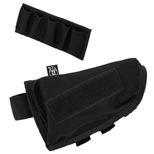 MFH Rifle Stock Pouch Black