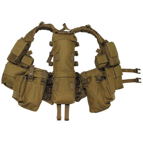 MFH Tactical Vest Coyote