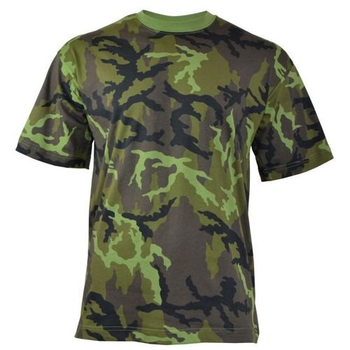 MFH US T-Shirt Czech Woodland