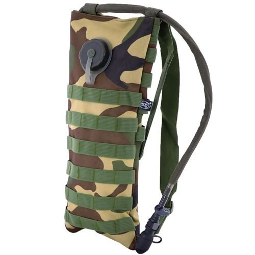 MFH 2.5L Hydration Pack MOLLE Woodland