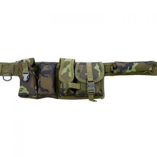 MFH 6 Pieces Tactical Belt Czech Woodland