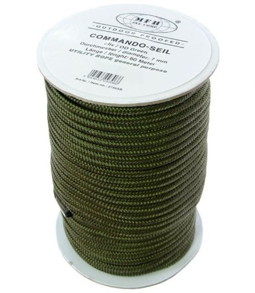 MFH 7mm/60m Commando Rope Oliv [1 roll]