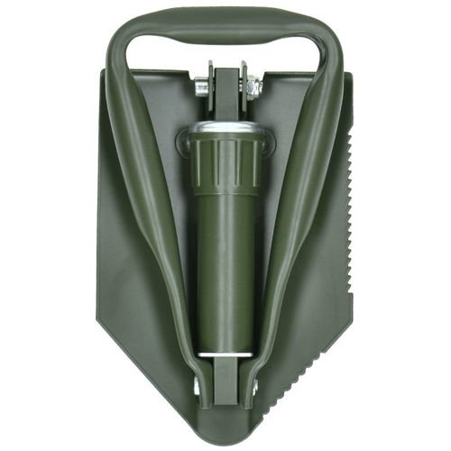 Max Fuchs BW Folding Shovel with Plastic Cover Olive