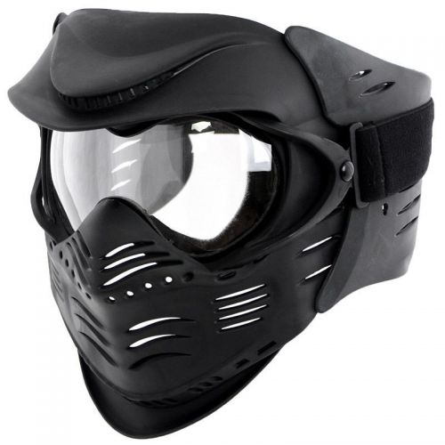 MFH Fight Protective Face Mask Black