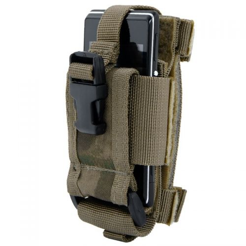 MFH Mobile Phone MOLLE Holder HDT Camo Green