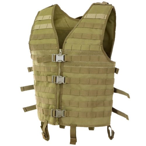 MFH Modular MOLLE Tactical Vest Coyote