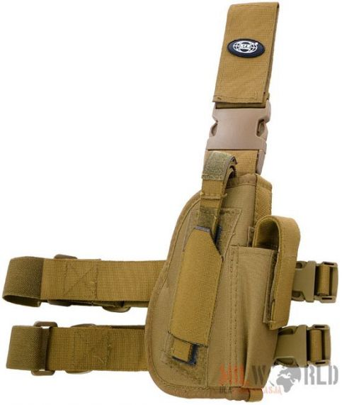 MFH Right Tactical Leg Holster Coyote
