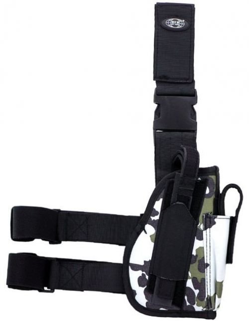 MFH Right Tactical Leg Holster Snow Camo