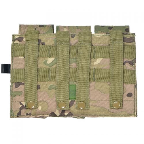 MFH Triple Mag Pouch MOLLE Operation Camo