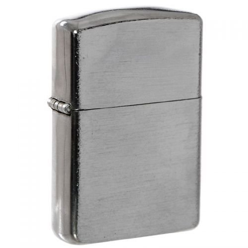 Max Fuchs Windproof Lighter Chrome Brushed