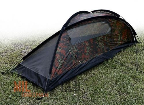 Mil-Tec 1 Person Tent Recom Flecktarn