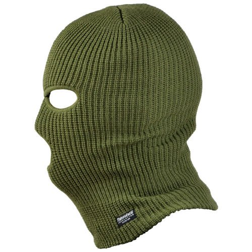 Mil-Tec 3–hole Thinsulate™ Balaclava Oliv