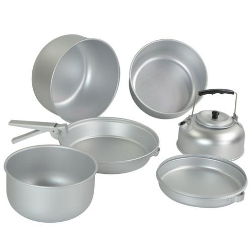 Mil-Tec Aluminum Cook Set with Kettle