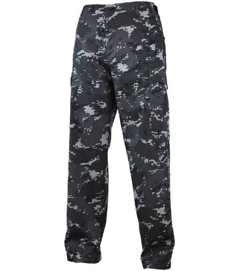 Mil-Tec BDU Ranger Pants Black Digital