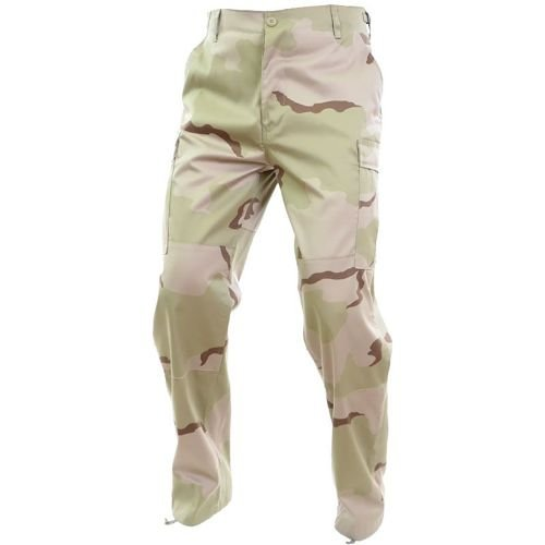 Mil-Tec BDU Reinforced Pants Desert 3-color