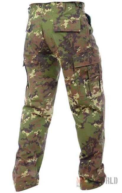 Mil-Tec BDU Rip-Stop Pants Vegetato Woodland