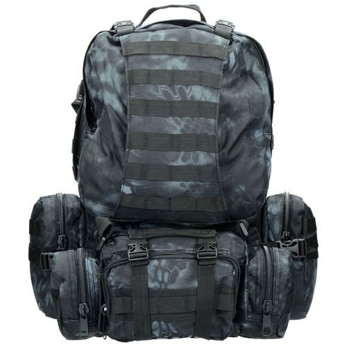 Mil-Tec Backpack 2in1 ASSEMBLY Mandra Night