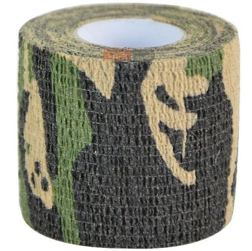 Mil-Tec Camouflage Adhesive Tape 4.5m Woodland