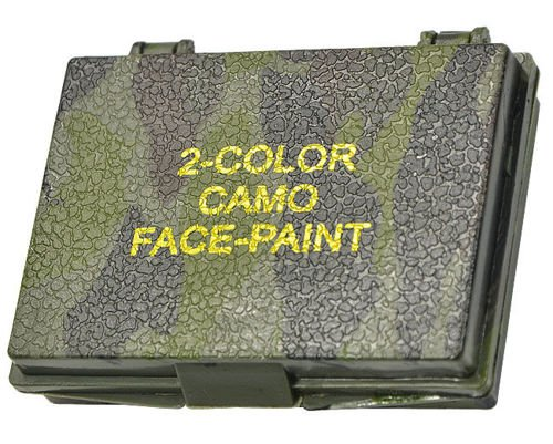 Mil-Tec Camouflage Face Paint in a Case 2 Colours