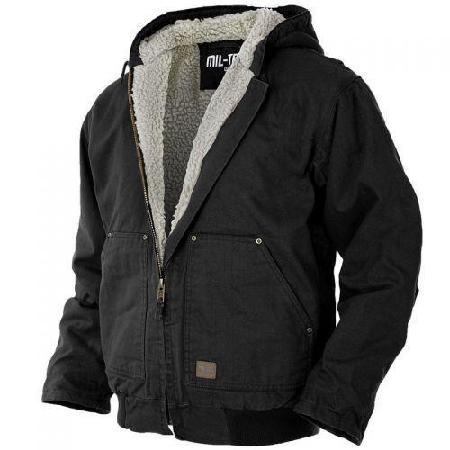 Mil-Tec Canvas Jacket Black