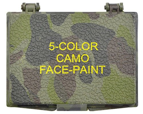 Mil-Tec Face Paint a box 5 colors Woodland