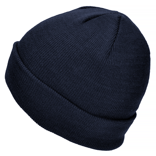 Mil-Tec Fine Knitwear Winter Watch Cap Navy Blue
