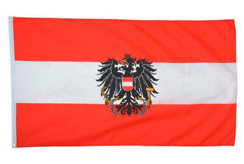 Mil-Tec Flag of Austria 90x150cm (5ft x 3ft)