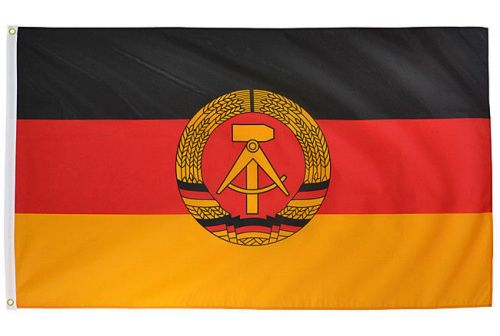 Mil-Tec Flag of German Democratic Republic (DDR) 90x150cm (5ft x 3ft)