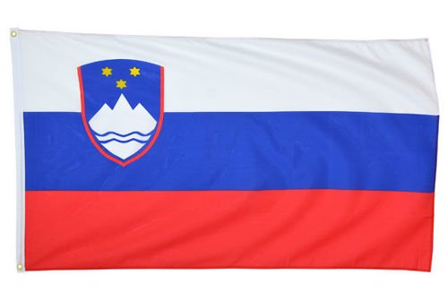 Mil-Tec Flag of Slovenia 90x150cm (5ft x 3ft)
